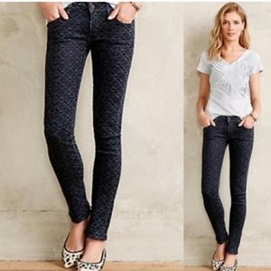 CITIZENS OF HUMANITY  Racer Skinny Coated Jeans